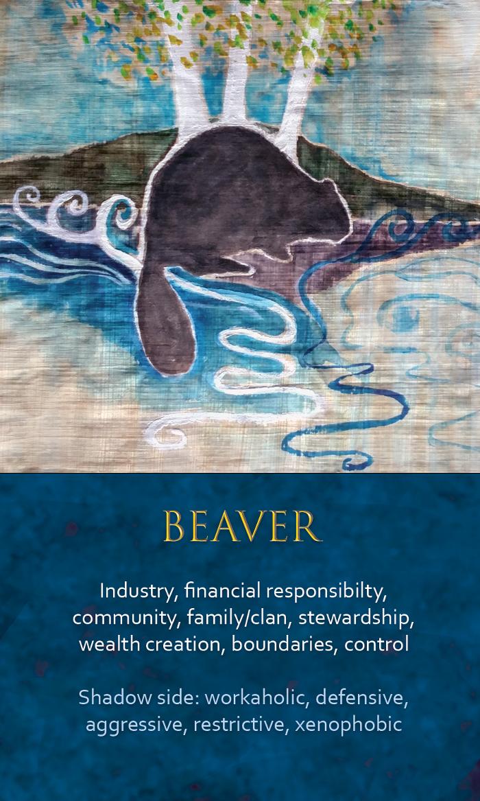 Spirit Animal Awareness Oracle Cards - Beaver | Spirit animal totem, Animal  totem spirit guides, Spirit animal meaning