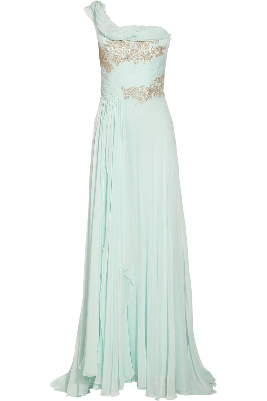 MARCHESA mint green dress | FabFash | Pinterest | Mint green dress ...