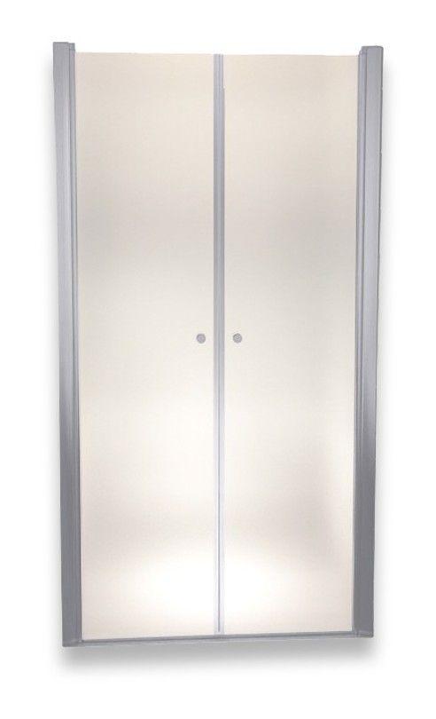 Porte de Douche 195 cm Largeur r/églable 72-76 cm D/époli-Opaque