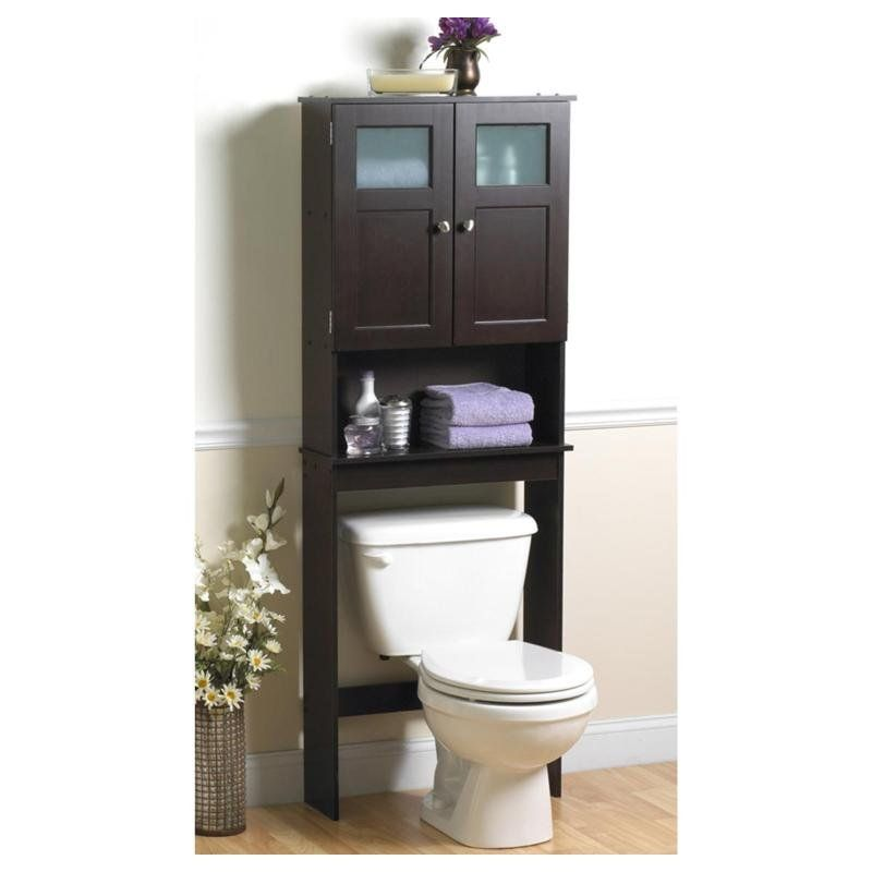 bathroom space saver on holddoesnt fit in current - Bathroom Cabinets That Fit Over The Toilet