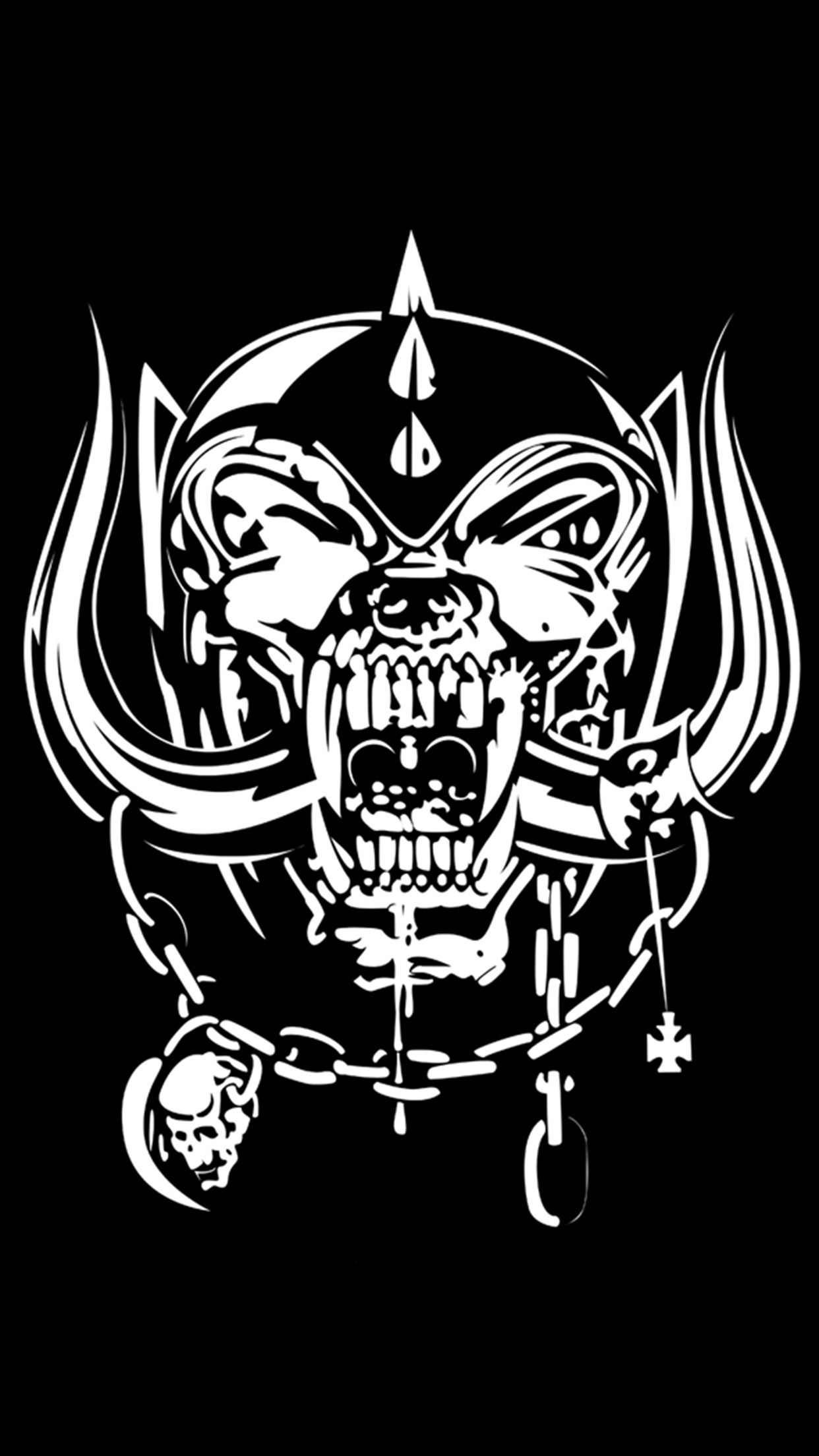 Motorhead Logo 3wallpapers Iphone Parallax Heavy Metal Art Metal Tattoo Heavy Metal Music