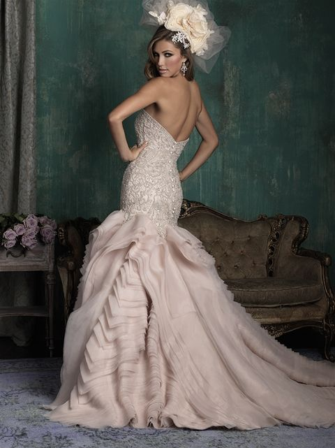 8694a5120d2 Designer  Allure Couture Style  C346 Available at Bliss Bridal in Wisconsin