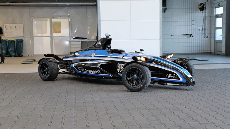 """""""In-house testing also showed the 1.0-litre EcoBoost-powered Formula Ford is capable of extremely frugal fuel economy, delivering 2.4 l/100 km (118 mpg) at 56 km/h (35 mph), and 5 l/100 km (57 mpg) at 120 km/h (75 mph).""""  Ford need to manufacture this..."""