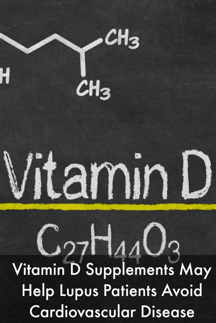 Vitamin D Supplements May Help Lupus Patients Avoid Cardiovascular Disease #LupusNewsToday