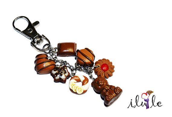 Подвеска сладости брелок сладости шоколадный брелок от IluLe, $20.00
