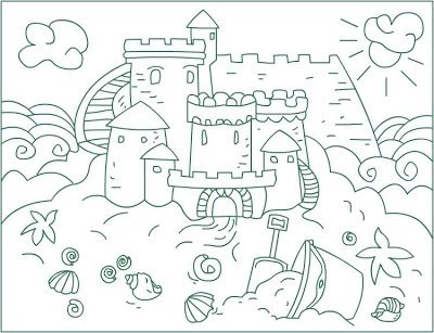 Nicole S Free Coloring Pages Sandcastles Coloring Pages