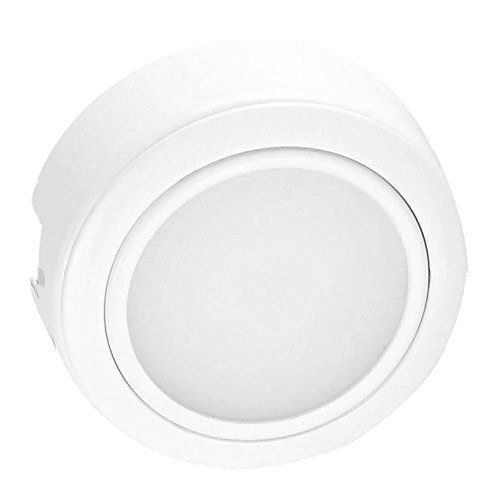 Getinlight Dimmable Recess Or Surface Mount Design Led Puck Lighting Kit With Etl List Warm White 2700k White Finished Power Cord Included Puck Lights Display Case Lighting