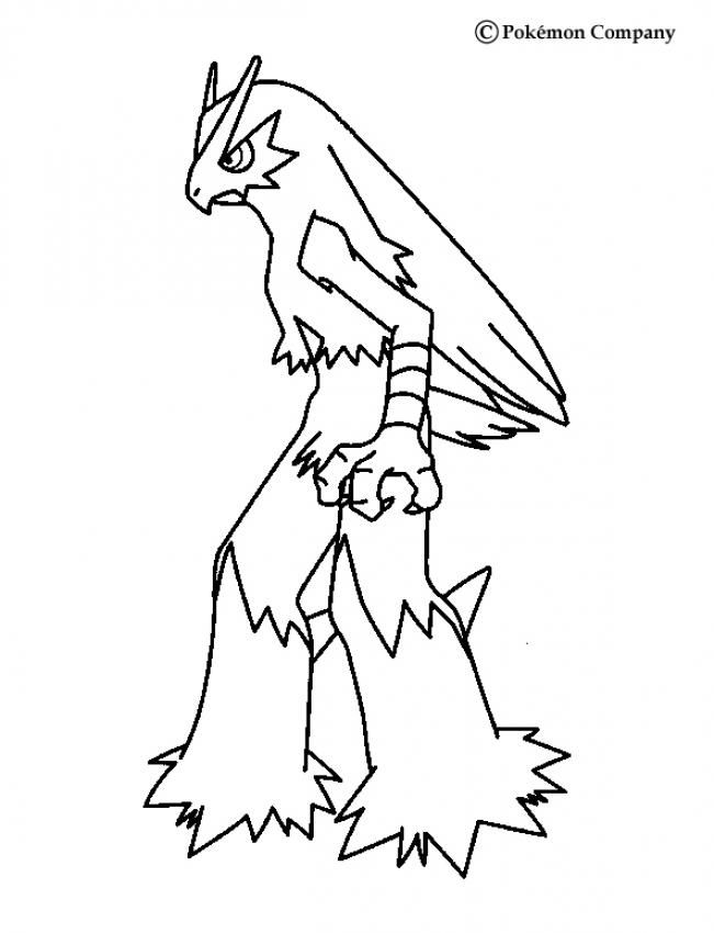 Blaziken Pokemon Coloring Page More Fire Pokemon Coloring Sheets