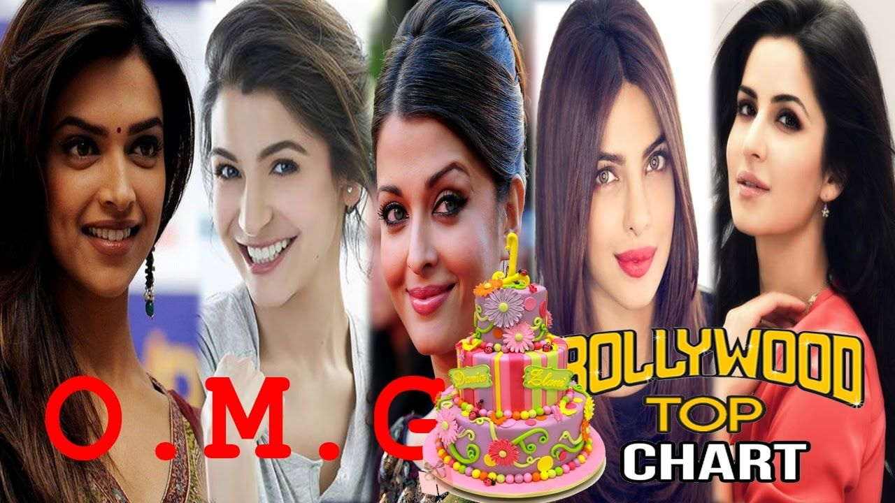 Top 10 Best Bollywood Actresses With Their Ages And Birthday Dates