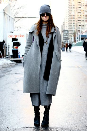 By now we know that beanie's are big for Fall 2013. NYFW Street Style A/W13 {Follow @poppybarley on Twitter & Instagram}