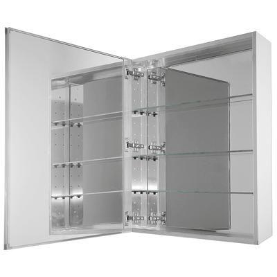 Glacier Bay - 24 Inch X 30 Inch mirror medicine cabinet ...