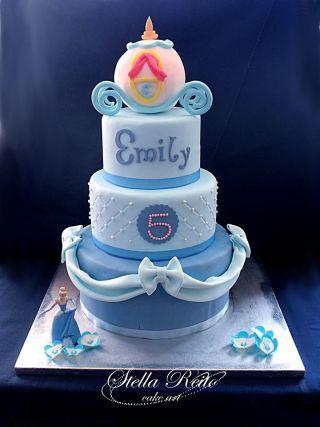 Cinderella cake Cake by stella reito CakesDecor Birthday party