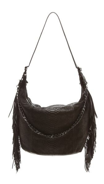 Ash Chain Hobo Bag