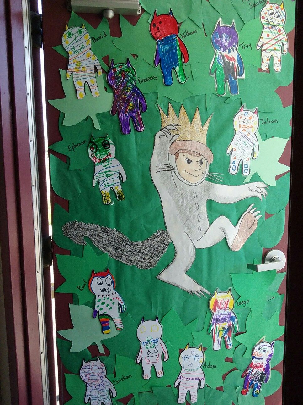 Where The Wild Things Are Door Decoration | Classroom ...
