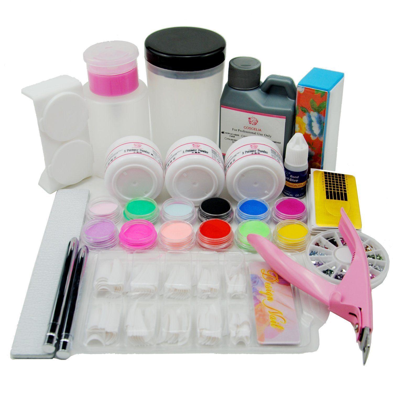 Coscelia Acrylic Powder Liquid Pump Dispenser Brush Holder Glue