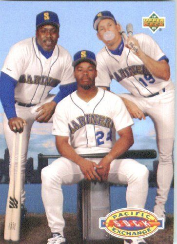 1993 Upper Deck 55 Pacific Sock Exchnge Seattle Mariners