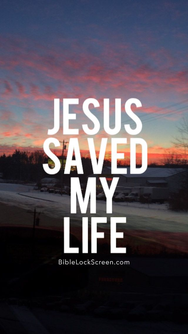 Jesus Saves IPhone 5 Wallpaper