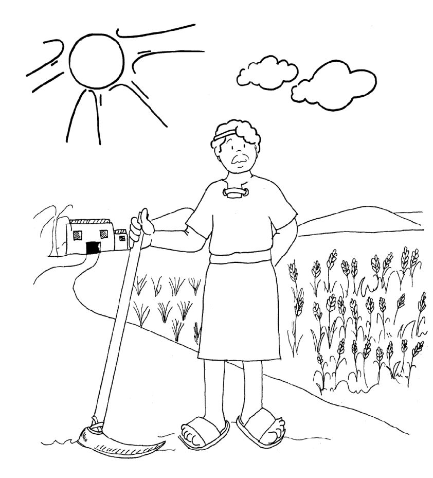 Vineyard Workers Parable Coloring Pages Coloring Pages