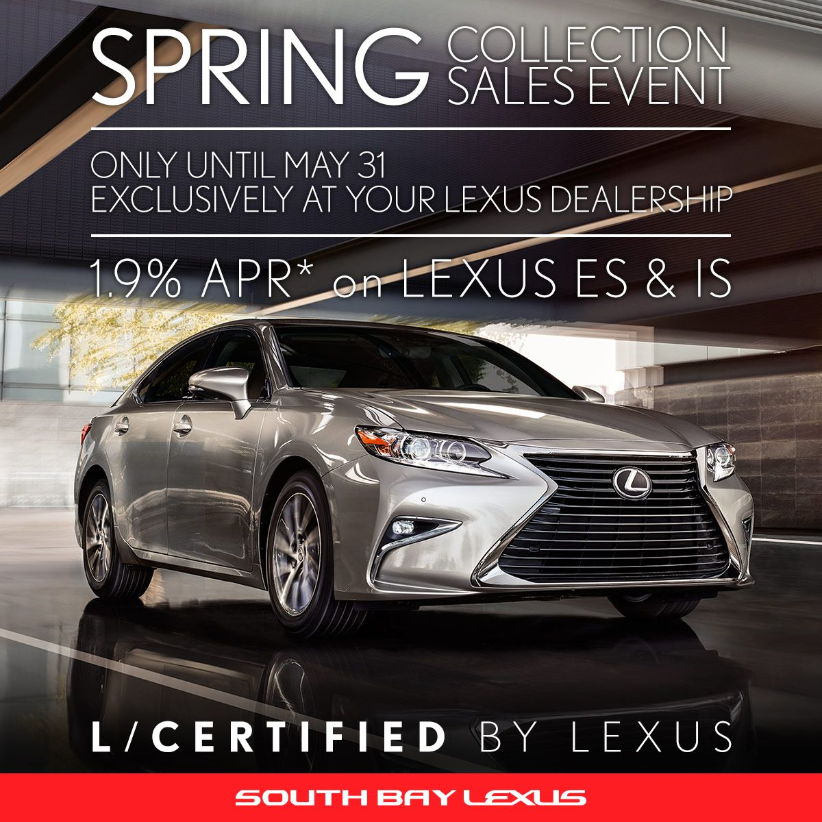 Take Advantage And Get This Deal At Our Dealership Before You Run Out Of Time Southbaylexus Springcollection Lexus Lexus Dealership New Lexus Suv