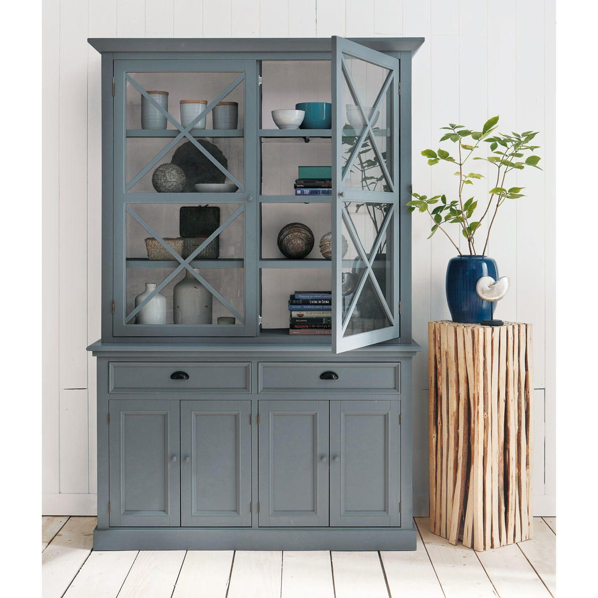 colonne d co bois rivage d coration int rieur pinterest bois gris gris et buffet de f te. Black Bedroom Furniture Sets. Home Design Ideas