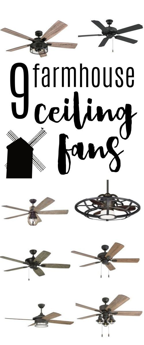 Photo of 9 great Farmhouse ceiling fans for every budget – high ropes room