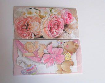 Money Card Holder set/Money Envelope set/Gift Envelope set/cash gifting envelope