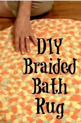 Homemade Towel Rug Frugal Tip Towel Rug Diy Bath Mats