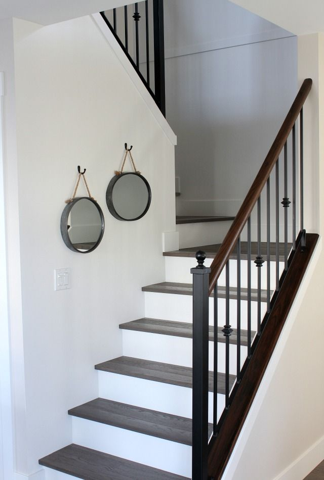 Best From Carpet To Hardwood Staircase Makeover Staircase 400 x 300