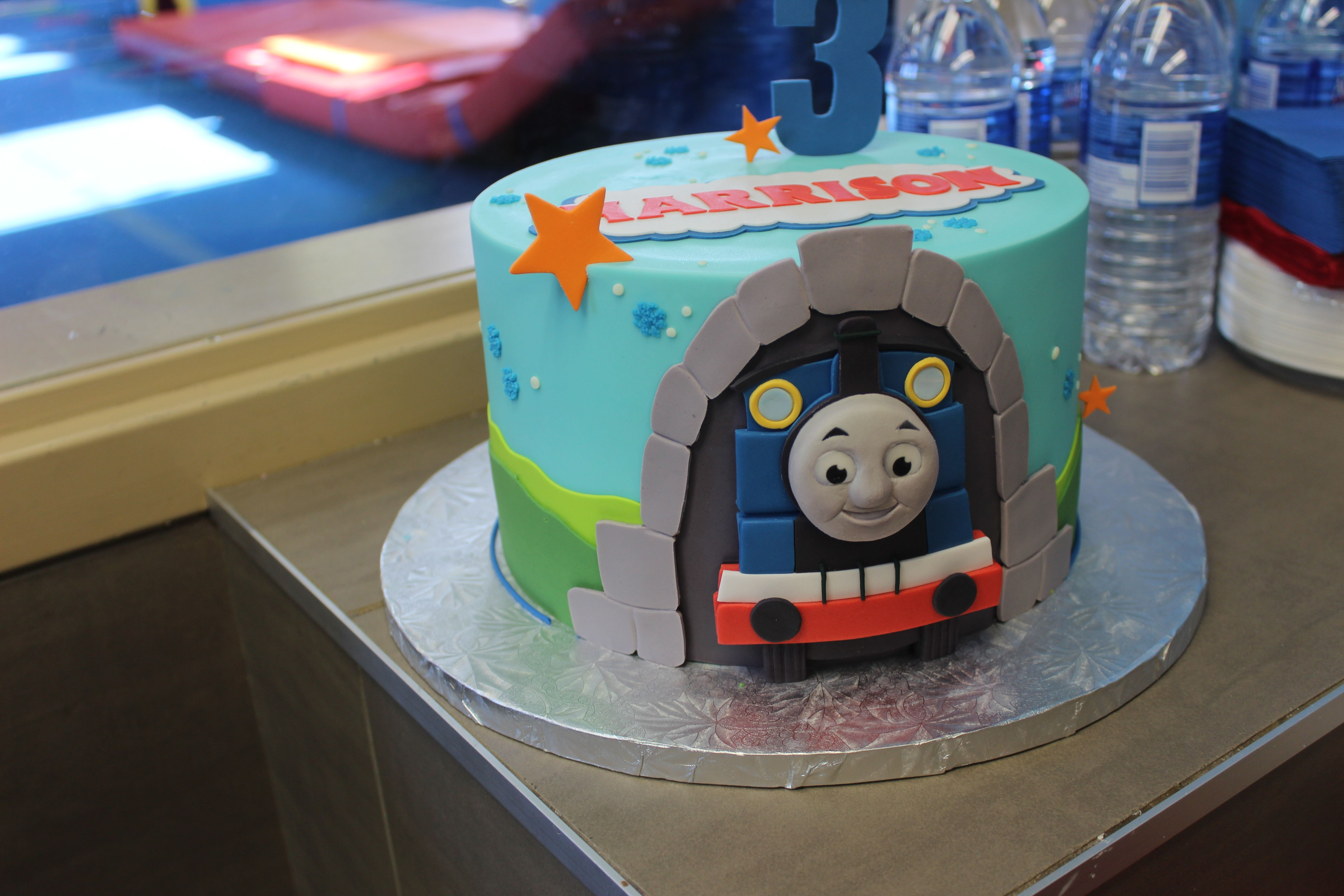 Thomas the Tank Engine Cake - from The Girl with The Most Cake - Best Baker Ever!
