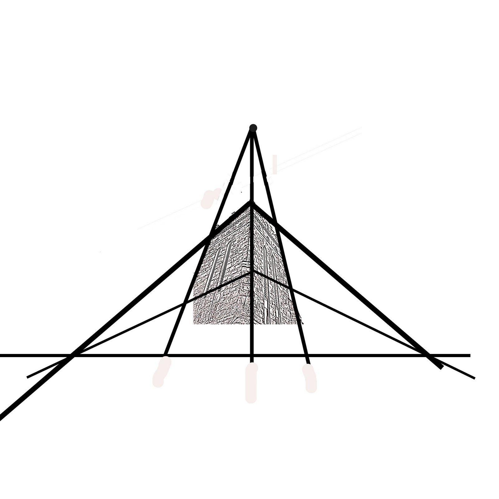 Three Point Perspective Worm S Eye Vs Bird S Eye View
