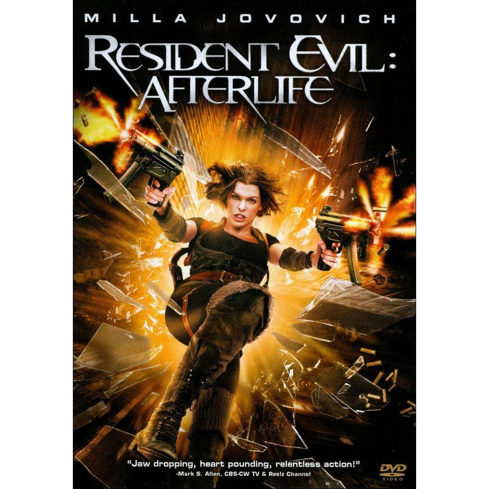 Resident Evil Afterlife Dvd Video Em 2020 Resident Evil