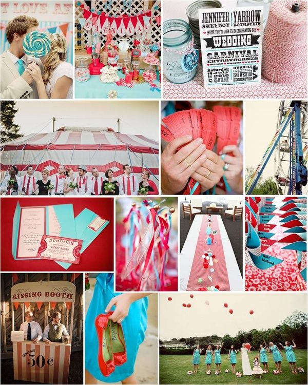 Vintage Carnival Wedding Ideas: Carnival Wedding Inspiration (With Images)