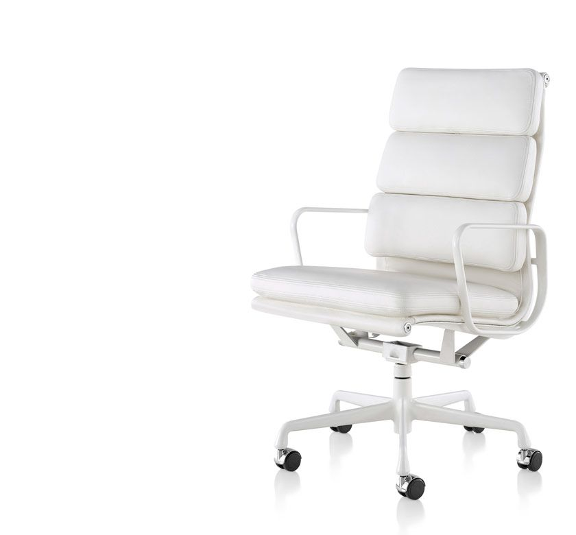 Eames soft pad guest chair herman miller most