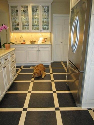 Linoleum Kitchen Floor   Interesting Linoleum Kitchen Floor.