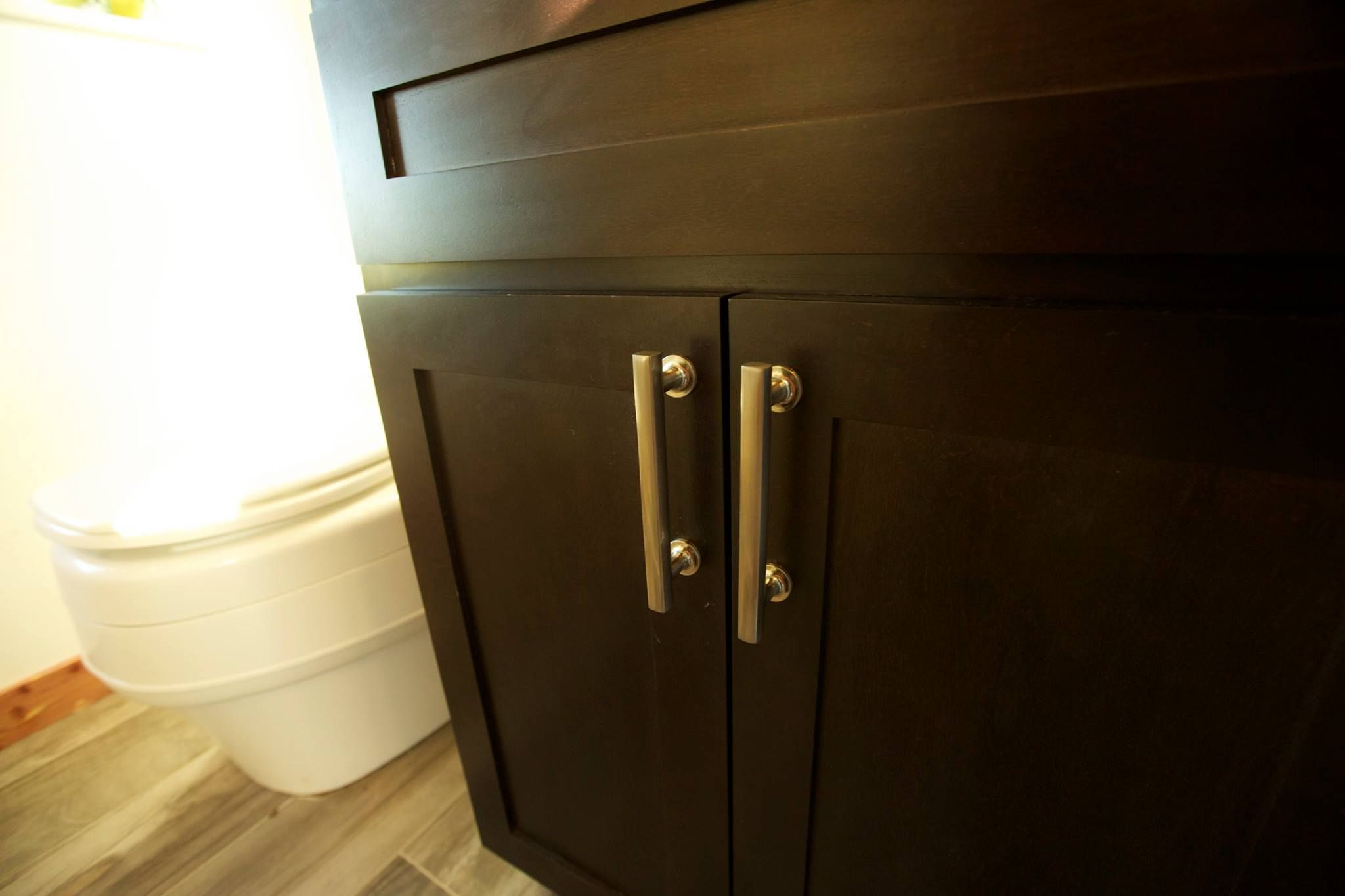 Tiny House Nation Showcases Emtek Cabinet Hardware In Satin Brass