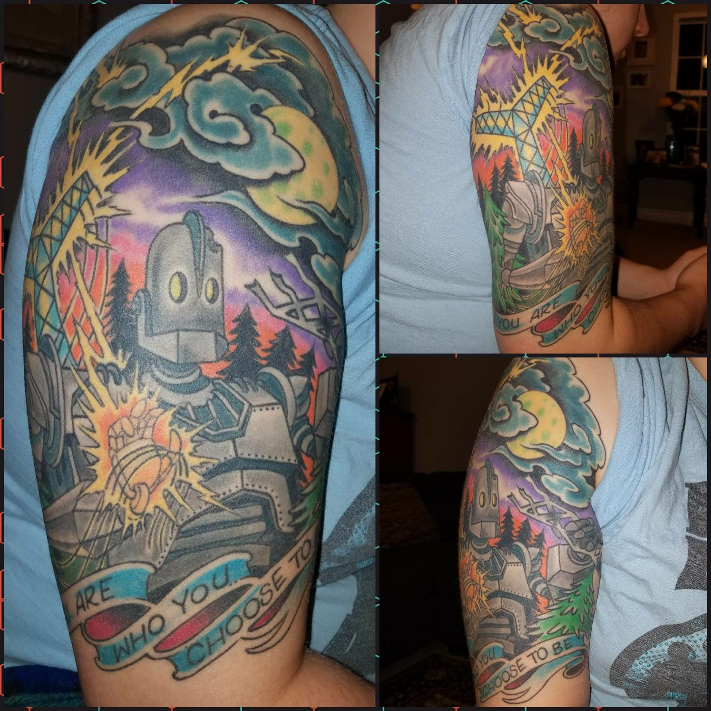 The Iron Giant tattoo by Tony Riccio at Norfolk Ink Gallery from ...