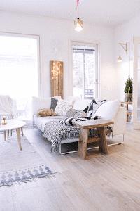 Un hogar nórdico con una decoración low cost, ¡no te lo creerás!