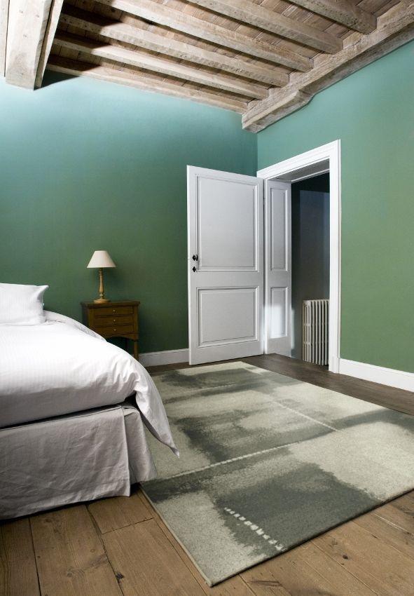 Slaapkamer met laminaat en vloerkleed via Carpetright | Interieur ...