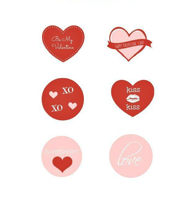 6 FREE Printable Valentine Tags | Valentine's day ...