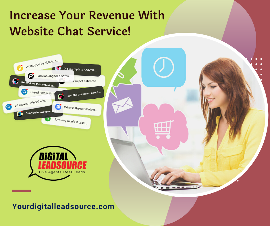 Increase Your Revenue With Website Chat Service Chat