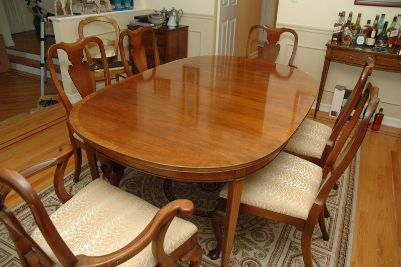 Phenomenal Hickory Chair Company Dining Table And Chairs Table Caraccident5 Cool Chair Designs And Ideas Caraccident5Info