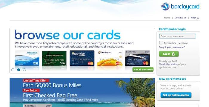 Frontier Credit Card Login Online