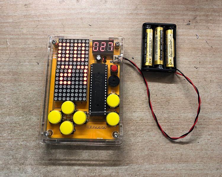 Diy Game Kit For Tetris Snake Plane Racing Diy Electronic Kits