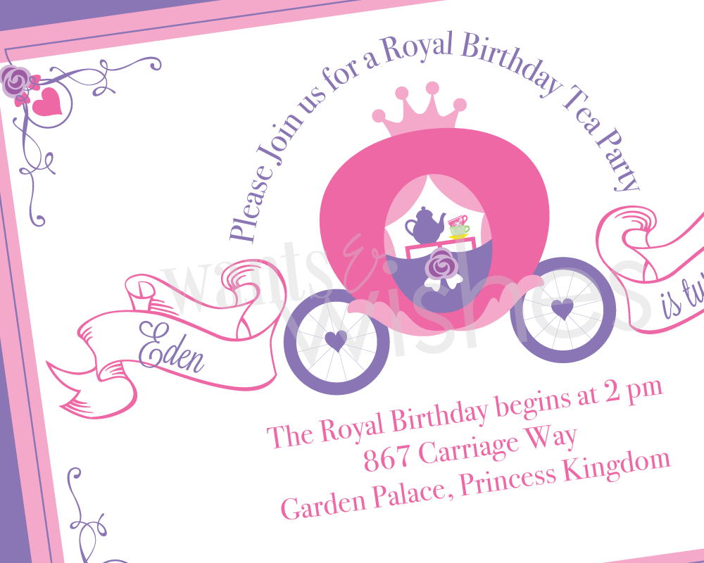 Tea Party Invitations Templates Free | Viki\' s birthday | Pinterest ...