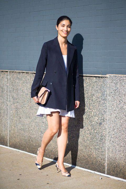 New York Spring 2015 Street Style - Street Style | Caroline Issa