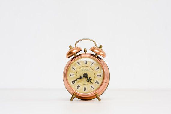Vintage German Clock, Germany Kienzle Alarm Clock, Retro ...