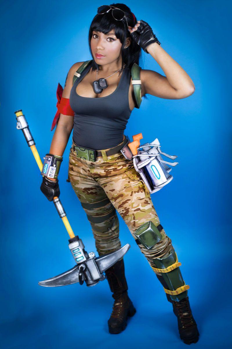 time for some fortnite cosplay - todas las chicas de fortnite