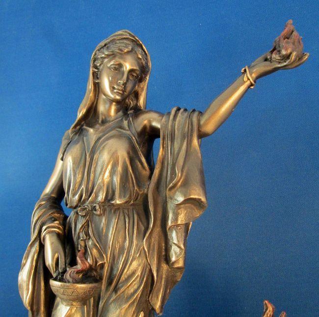 Hestia Goddess Statue Diana Vesta Pinterest Mythology