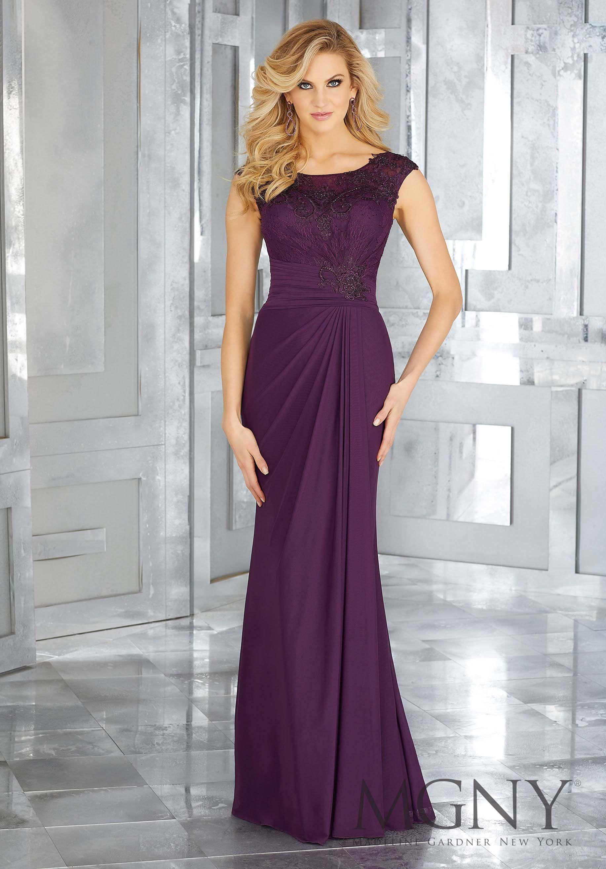 MGNY Madeline Gardner, Evening Dress style 71612