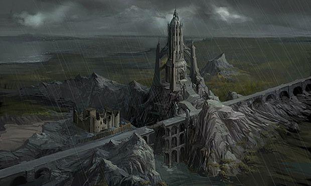 Dwarven Fortress Concept Art Google Search Dwarven City